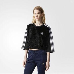 Adidas Crop top crew neck